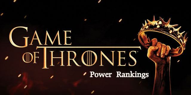GOT Power Rankings Logo
